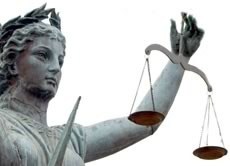 Which was will the scales of justice tip?